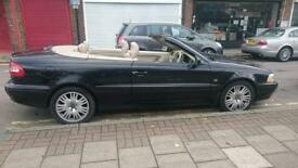 Volvo C70 convertible, auto gear, cream leather, drives well