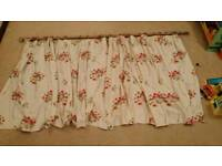 Free curtains and brass rods