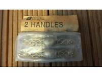 2 B&Q kitchen handles - CAN BE DELIVERED
