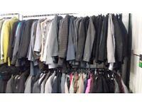 30 Used Ladies and Men's Blazer Jackets Joblot Carboot