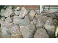 Rockery / pond rocks