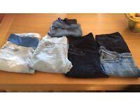 H&M Asos Mamas&Papas Quality maternity Jeans size 12