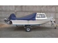 Dejon 14 day boat and trailer