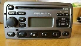 genuine mk5 ford fiesta zetec s cd player stereo.