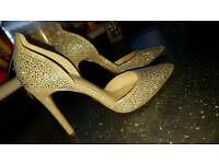 Wedding heels size 3.5 new £20