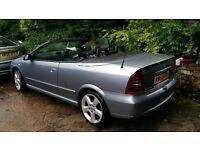 vauxhall astra convertible genuine warranty millage 12mont mot
