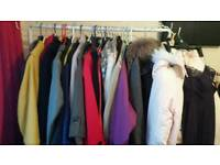 Various coats, handbags and shoes from £2 each