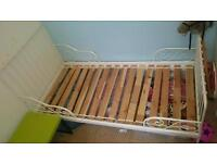 Child's adjustable length bed (IKEA)