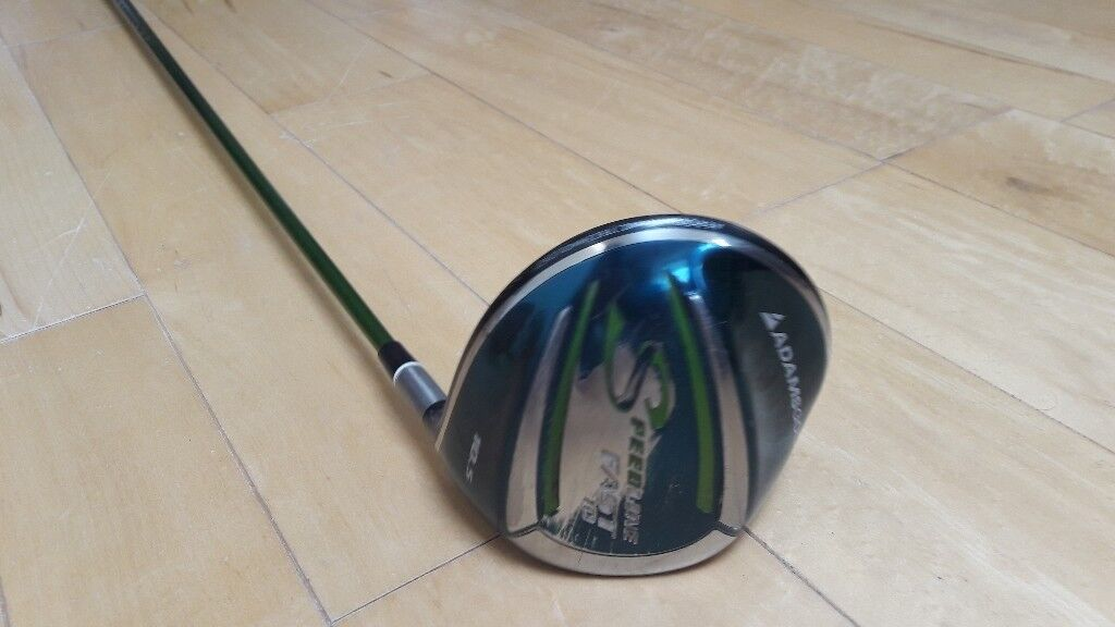 Adams Speedline Fast 10 driver with cover