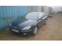 Peugot 607 LHD left hand drive Germany Logbook DIESEL AUTOMATIC GEARBOX PROBLEM good for export