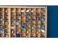 Big colections of gems,rocks and precious stones