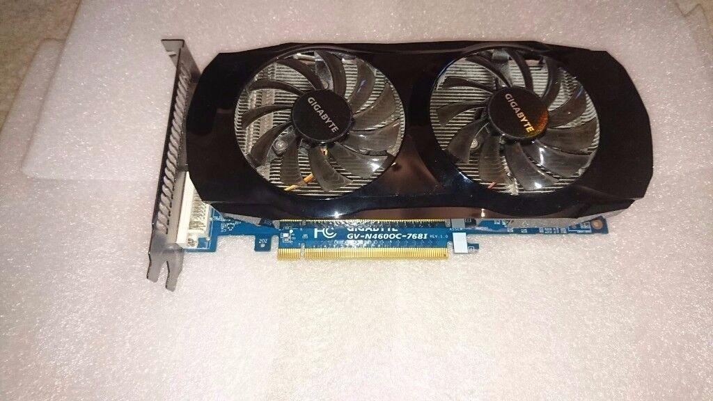 Gygabyte GeForce GTX 460 (768MB)