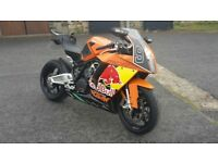 KTM RC8 1190 REDBULL LIMITED EDITION,2010 MODEL,20K,HISTORY,NEW MOT,STUNNING AWESOME RARE SUPER BIKE