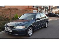 Genuine 13,000 Miles + Honda Civic 1.6 SE Auto (1999/T Reg) + FSH + 1 Owner Since New + RARE +