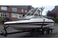 Power boat speed boat campion s545 wake boat
