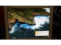 15 inch LG monitor vga suitable for cctv or second monitor
