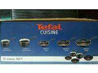 Tefal 5 pieces essential non stick pan set