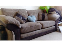 Genuine 3 Seater sofa for quick sale with 8 years warranty included.