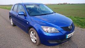 Mazda 3 TS 1.6l petrol blue