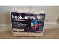 Kookaburra Shade Sails (Ivory/Polar white, 3.6 squared metre shade, waterproof, not used)