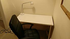 Studio table LINNMON/ADILS + TORKEL chair + studio lamp