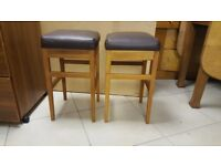 Pair Of Kitchen / Dining Stools