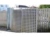 Trellis 1800mmx1800mm used 20 pounds each