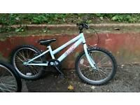 Child's 18 in wheel jump bike