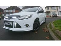 Ford focus 1.6 tdci, zetec s,Frozen white.top spec,F/S/H