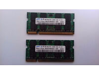 SAMSUNG 2GB DDR2 MEMORY