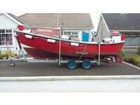 For sale Water craft lifeboat converted for sea angling