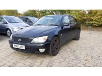 2002 Lexus IS 200 2.0 S 4dr Black, Good Body work