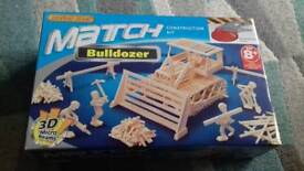 Match stick construction kit