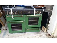 Rangemaster cooker for sale. Gas with electric hotplate. Approx 3 years old