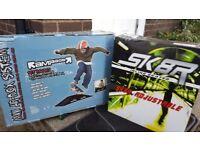BRAND NEW Inline Skates & Mini Skate Ramp