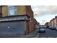 Shop with garage groundfloor premises on waterloo rd middlesbrough