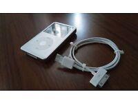 iPod Classic Silver 160gb - 6th Gen
