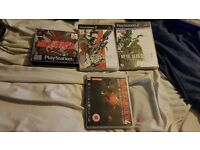 Metal Gear solid 1-4