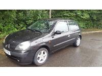 2003 Renault Clio 1.2! 12M MOT! FSH!! Cheap Realiable Bargain!