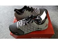 Mens reebok crossfit trainers. Size 9.5. Brand new and unworm complete with tags