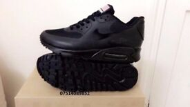 nike air max 90 hyperfuse black independance day all sizes inc delivery paypal