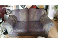 Free!!! 2 seater sofa & arm chair