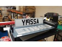 Private car plate registration Y19SSA