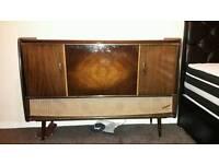 Retro music cabinet