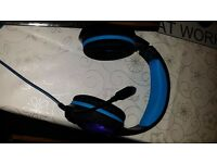 Gaming, PC Stereo colour changing Headsets with mic.