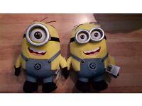 Minion Dave & Stuart Soft Toy (brand new)