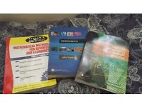 Job lot - University Economics Course text books - £10 - Collection only