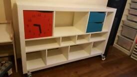 Ikea Kallax Shaving storage shelves shelf unit