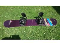 Snow Board with Bindings