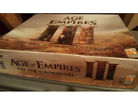 Age Of Empires 3 board game Complete